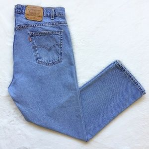 Levis Vintage 505 Regular Fit Straight Leg Jeans